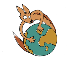 A jackal around the world by fecama