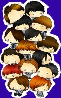 FANART - SuJu 15 Stack Up by trace-xing