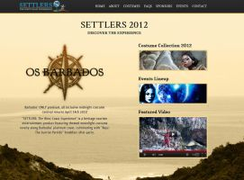 Settlers 2012 Landing Page by Samosuki