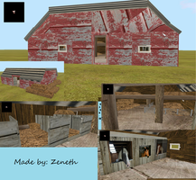 Barn-Feral Heart-For Sale With Map by Huzian