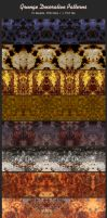 Grunge Decorative Patterns by xara24