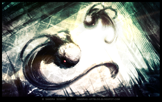 Speedpainting Dream-Monster by Sadako-xD