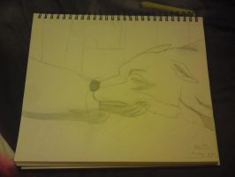 Toboe Drawing by Horsey-Luver450