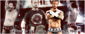 WWE: CM Punk's Victory, WM28 by KamenRiderReaper