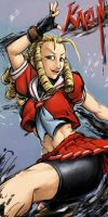 Street Fighter 4 Karin by Ragathol