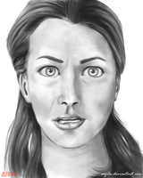Facial expression study 01 by Nyila