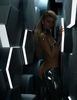 Gynoid 0x44 by TweezeTyne