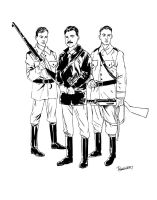 The Bielski Brothers by brentb9702