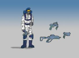 Arctic Trooper by Knighthammer
