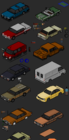 Townscape - vehicles by themozack