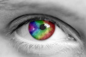 Multi-Colored Eye by Missionpb