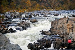 Great Falls, Virginia Waterfall 2 by MeKamalaPhotography