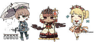Weather Pixel Adopts [OPEN] by BlazingBacon
