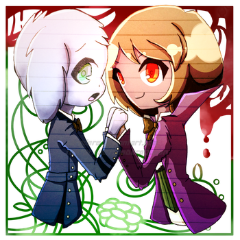 .:*Chasriel as Cielois*:. by SaraDere
