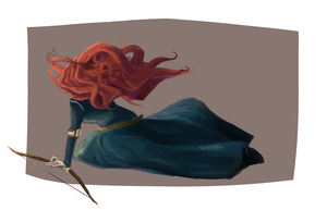 Merida by yuudoe