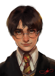 harry potter by XhilariousX
