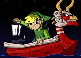 Wind Waker by Adam-Leonhardt