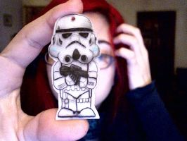 stormtrooper necklace by pnuewave