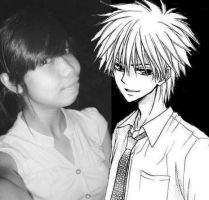 Edited: Me and Usui by Jibari-chan