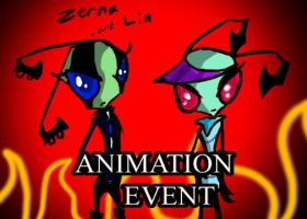 Zerna -and- Lin -ANIMATION EVENT- by Avafaidian