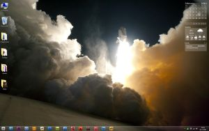Windows 7 desktop by Dannydeman