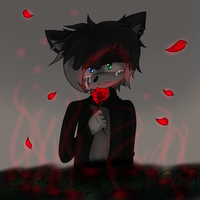Red Rose by xXDemonRoseXx