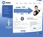 Norma Internet Corporate Site by cenkakyildiz