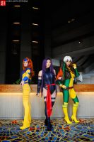 Ladies of X-Men by xSoulxxxReaperx