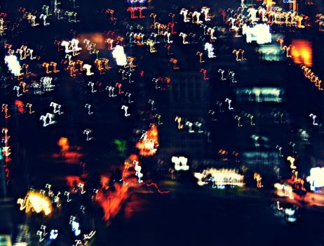 City Lights Distorts by adilaschance