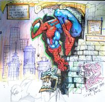 Sketchbook Spiderman by MightyMoose