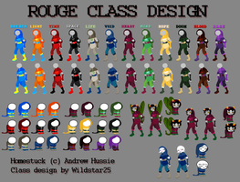 Homestuck Rogue Class Design by wildstar25