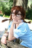 Taking a rest by Saru-Cosplay