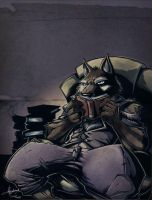 Commission: Combat Toaster by Ben-G-Geldenhuys