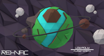 Low Poly | Planet Earth (C4D) - Made by Rexvac by HelpedsGFX