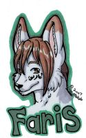 Faris Badge by LainMokoto