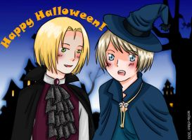 APH: Happy Halloween by Anila-chan