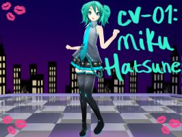MMD NC Update-Cute Miku V2 by tetofication