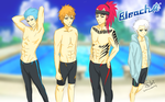 Bleach x Free by kimikoXbunny
