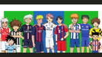 Road to Champions League 2015 ~ Anime Crossover by TheMuseumOfJeanette