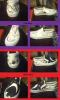 Sharpie Shoes 1 by Neveko