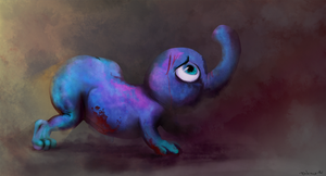Smuppet. My ironic lover. by I-psilone