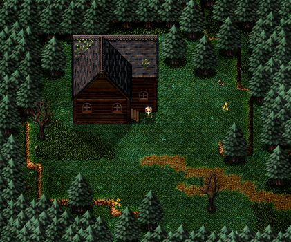 Outside Cabin Version 2 by KingsCourtGames