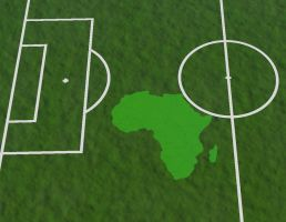 Africa Bites Football by Skrabalo