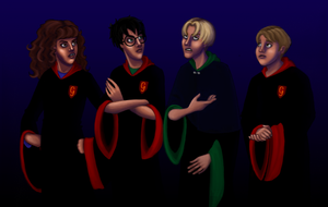 HP Art Project - WIP4 by Rotae