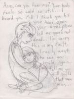 Frozen: I dont want to let you go... by Quivieres