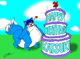 Happy 24th Birthday Kat by EUAN-THE-ECHIDHOG