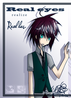 1 Real eyes realize real lies. by Tetra-FC