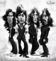 The Beatles by creaturedesign