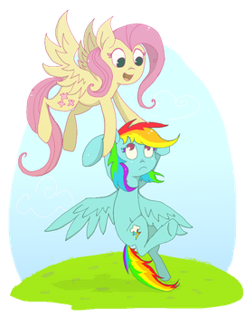 And you'll be best friends forever and ever! by RainbowCider