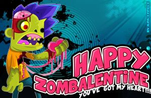 Happy Zombalentine!!! by vancamelot